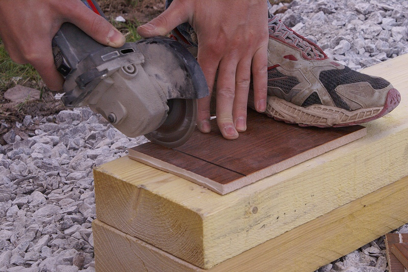 coupe de pierre - nady et seb construisent !