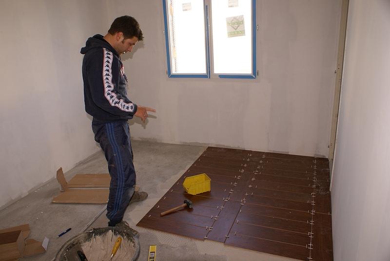 Carrelage parquet nady et seb construisent - Carrelage pour chambre ...