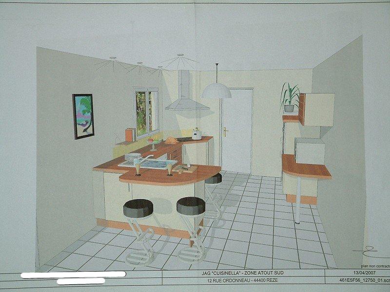 Les plans de la cuisine nady et seb construisent - Meuble bar pour cuisine ...