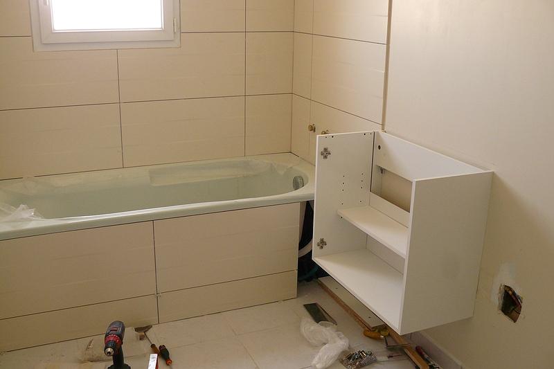 salle de bain/salle d'eau - nady et seb construisent ! - Plaque De Platre Salle De Bain