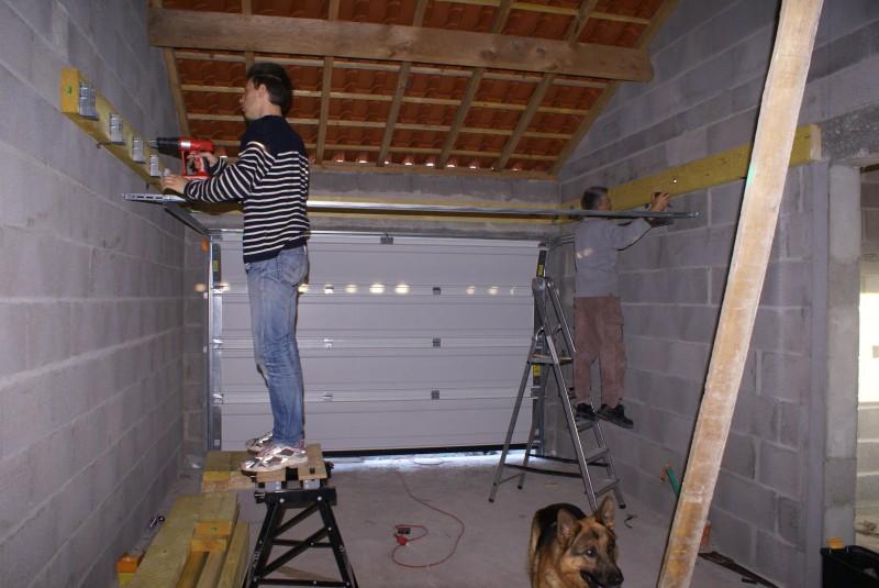 porte de garage sectionnelle nady et seb construisent. Black Bedroom Furniture Sets. Home Design Ideas